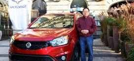 쌍용자동차, 유럽에서 뉴 코란도 C글로벌 론칭