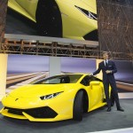 [참고사진] CEO 스테판 윙켈만과 우라칸 LP610-4