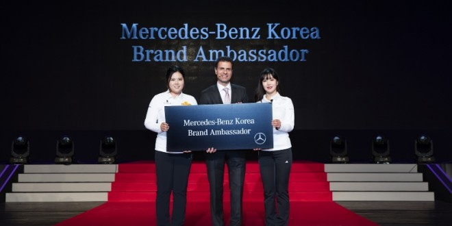 Motorian for Mercedes benz brand ambassador