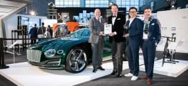 벤틀리 모터스 EXP10 스피드 6, 독일 디자인 어워드 금상 수상