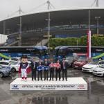 현대ㆍ기아차, '유로 2016' 공식차량 전달