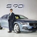 [볼보자동차] 볼보자동차 플래그십 세단 '더 뉴 S90' 출시(3)_이윤모 대표이사