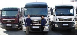 만트럭버스코리아 TGM 프리미엄 중형 카고 트럭 로드쇼 진행
