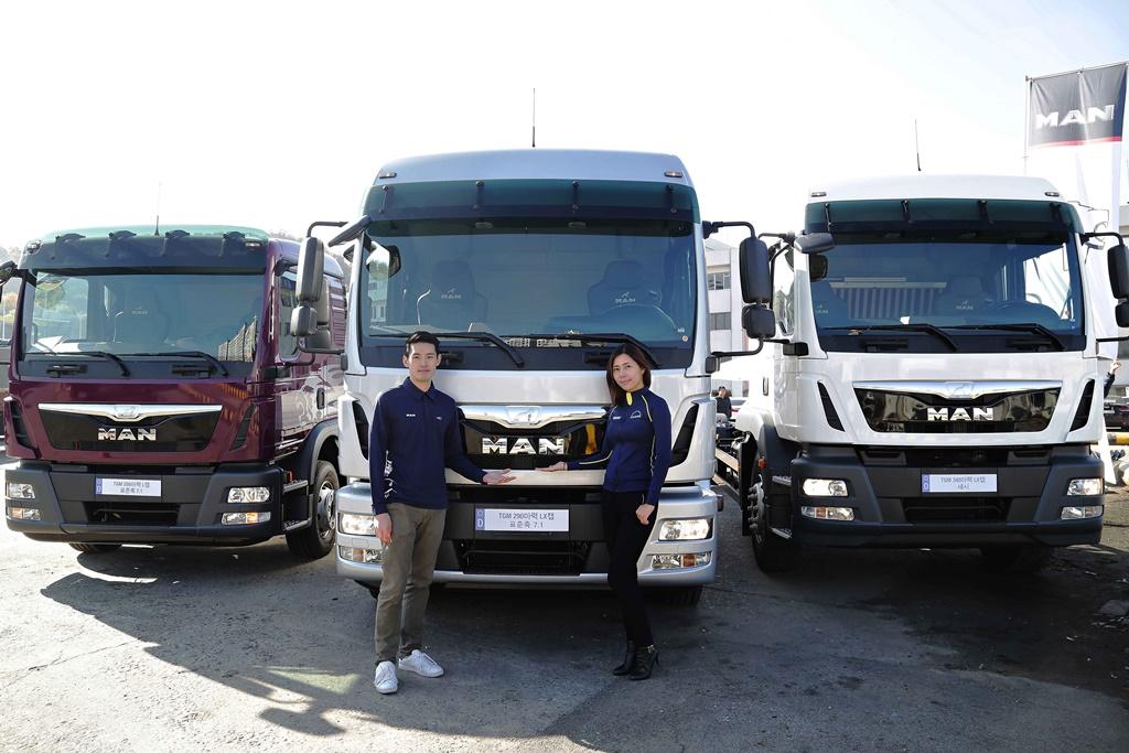 만트럭버스코리아_TGM 프리미엄 중형 카고 트럭 로드쇼_현장사진