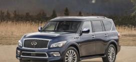 6인승으로 돌아온 인피니티 대형 SUV, 2017년형 QX80 공식 출시