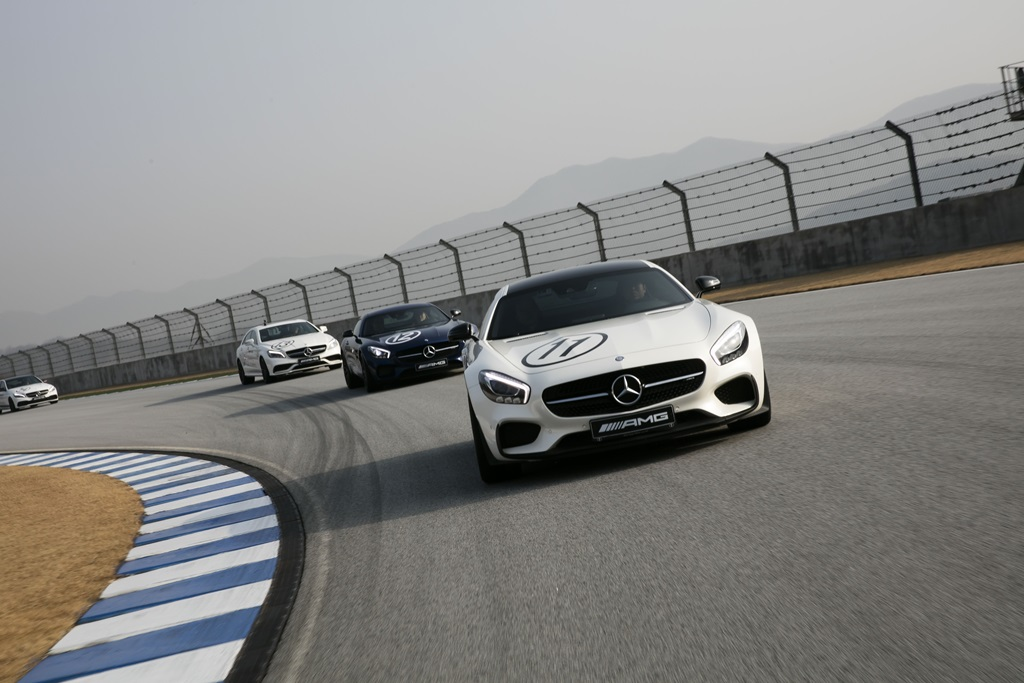 사진2-메르세데스-벤츠, AMG Performance Tour-Test Drive