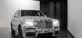 롤스로이스, 브랜드 최초 SUV 컬리넌 테스트 차량 공개