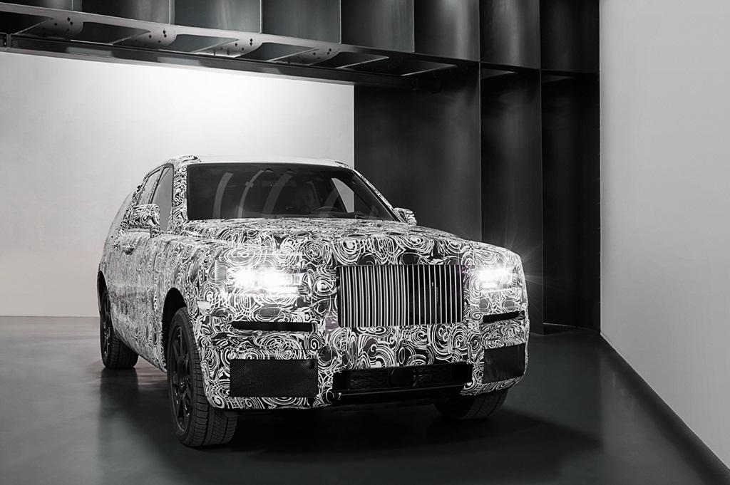 롤스로이스, 프로젝트 컬리넌 최신 테스트 차량 공개 (1)