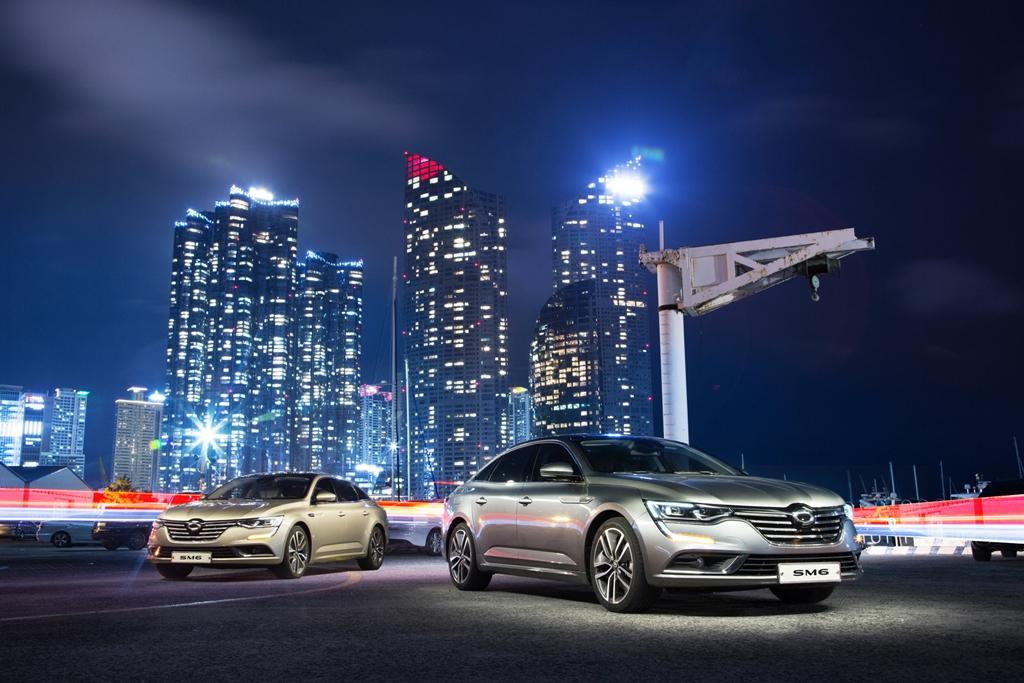 르노삼성 SM6, 한국자동차전문기자협회 '2017 올해의 차' 수상 1