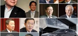 """국회 출석한 재벌 총수들, 어떤 차 탔나… """"대부분 국산차"""""""