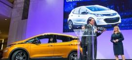 쉐보레 볼트EV, 2017 북미 올해의 차 선정