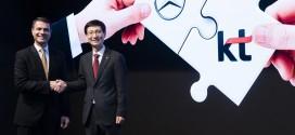 메르세데스-벤츠 코리아, KT 와 협력한 프리미엄 커넥티드 카 서비스 '메르세데스 미 커넥트' 출시 계획 발표