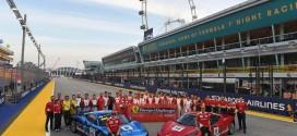 2017 페라리 챌린지 아태지역 레이스, F1 싱가포르 그랑프리서 개최