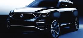 쌍용자동차, 프리미엄 SUV Y400 렌더링 이미지 공개