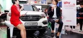 배우 이천희, 서울모터쇼 혼다관서 `Why Honda Talk Show' 진행