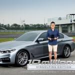 BMW 그룹 코리아 뉴 5시리즈 딩골핑 에디션 차량전달식 진행