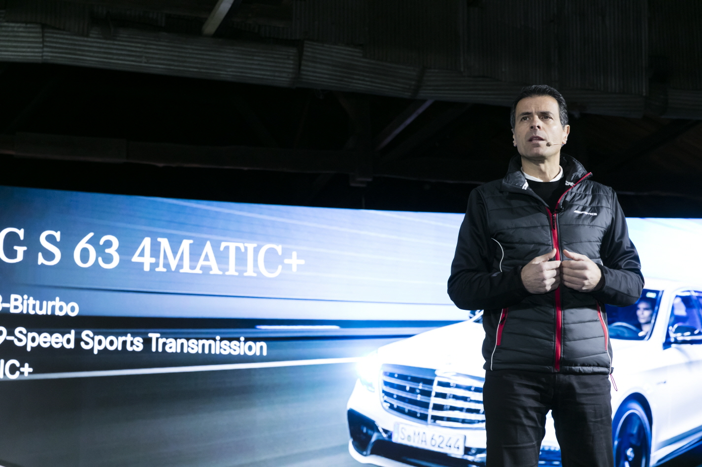 사진3-메르세데스-AMG 50주년 프레스 컨퍼런스, 메르세데스-벤츠 코리아 대표이사 사장 디미트리스 실라키스