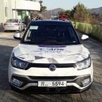쌍용자동차 티볼리 에어 '자율주행 자동차 기술 시연' 성공