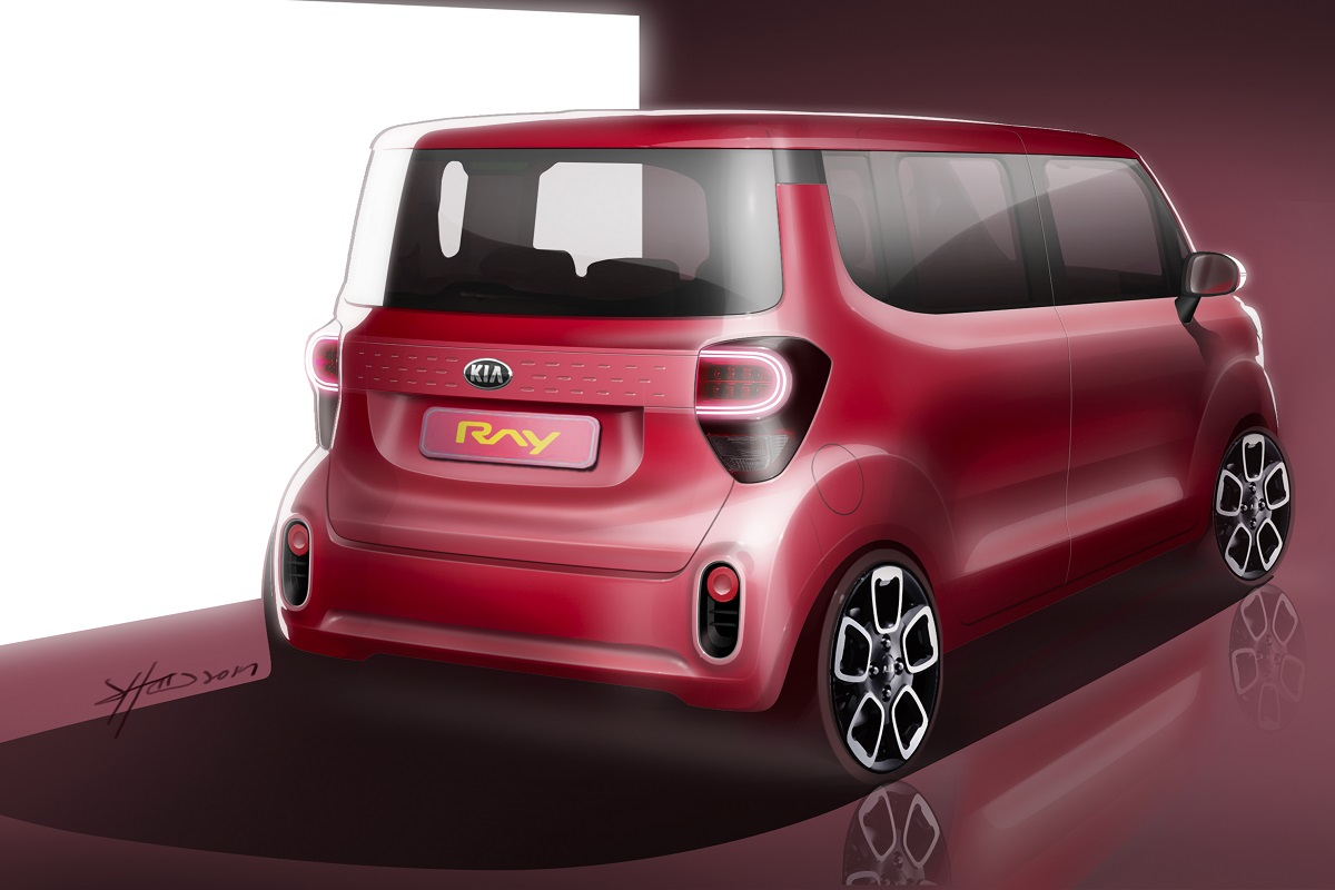 171206 기아차, 레이 상품성 개선모델 렌더링 공개(2)