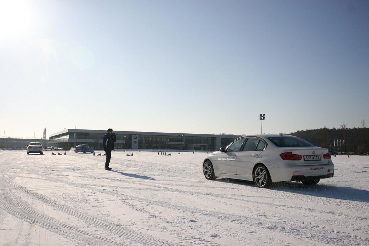 사진1) BMW 드라이빙센터 윈터 드라이빙 프로그램