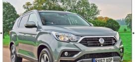 G4 렉스턴, 영국서 '2018 올해의 사륜구동 자동차' 선정