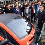 르노삼성자동차, 우체국 친환경 배달차량 시범사업 발대식 참여
