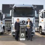 메르세데스-벤츠 트럭, 국내 판매 15주년 맞아 10,000호차 출고식 개최
