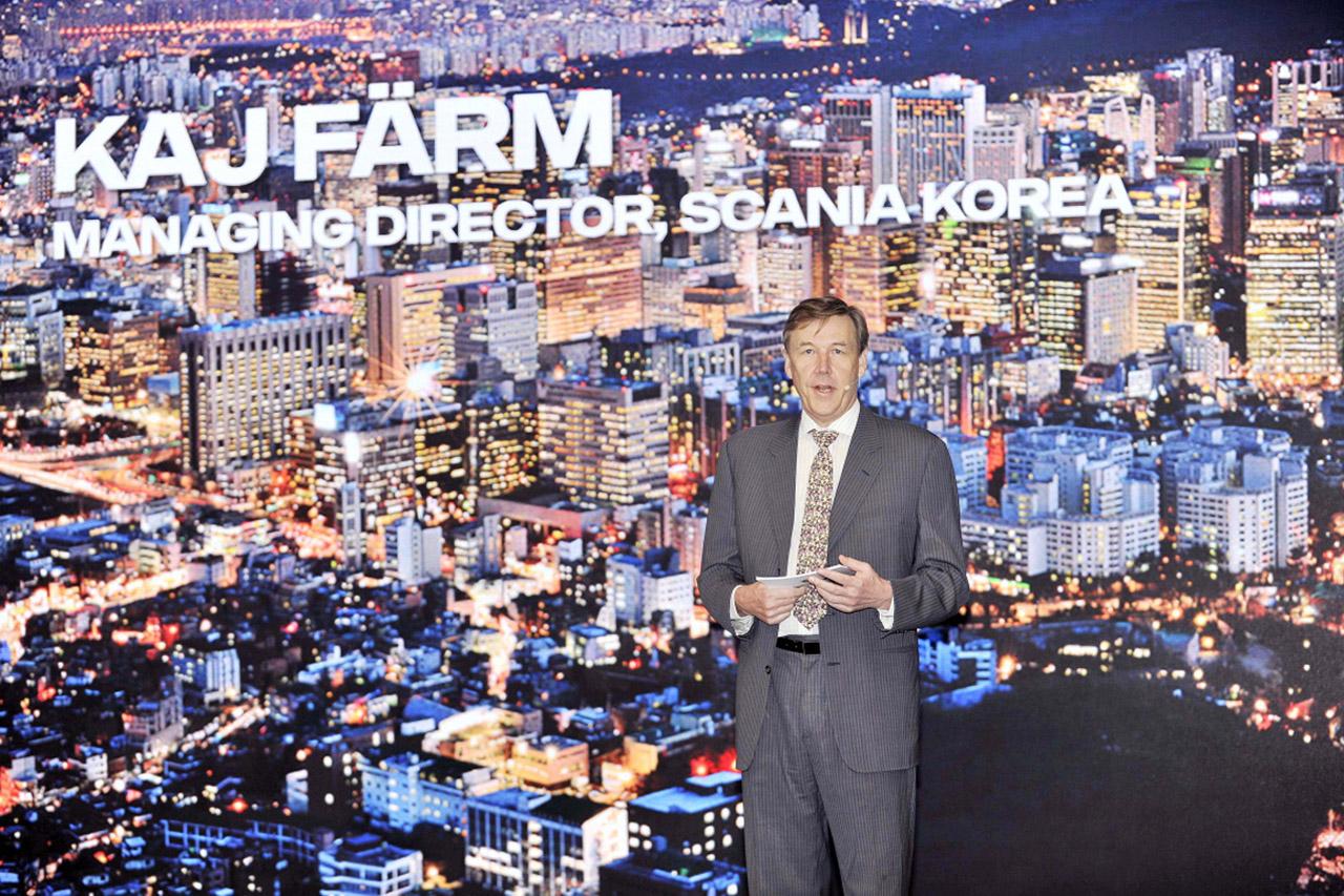 [사진4] 스카니아, 한국 시장 자신감 드러내