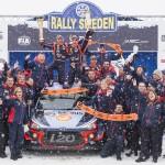 현대자동차, 2018 WRC 첫 우승 쾌거!