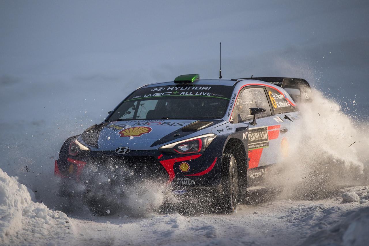 180219 (사진02) 현대차 2018 WRC 스웨덴랠리 우승