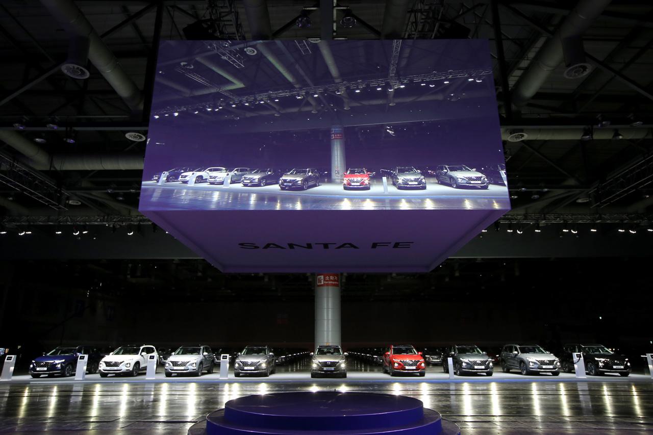 180221 (본행사 사진6) 현대차 신형 싼타페 출시