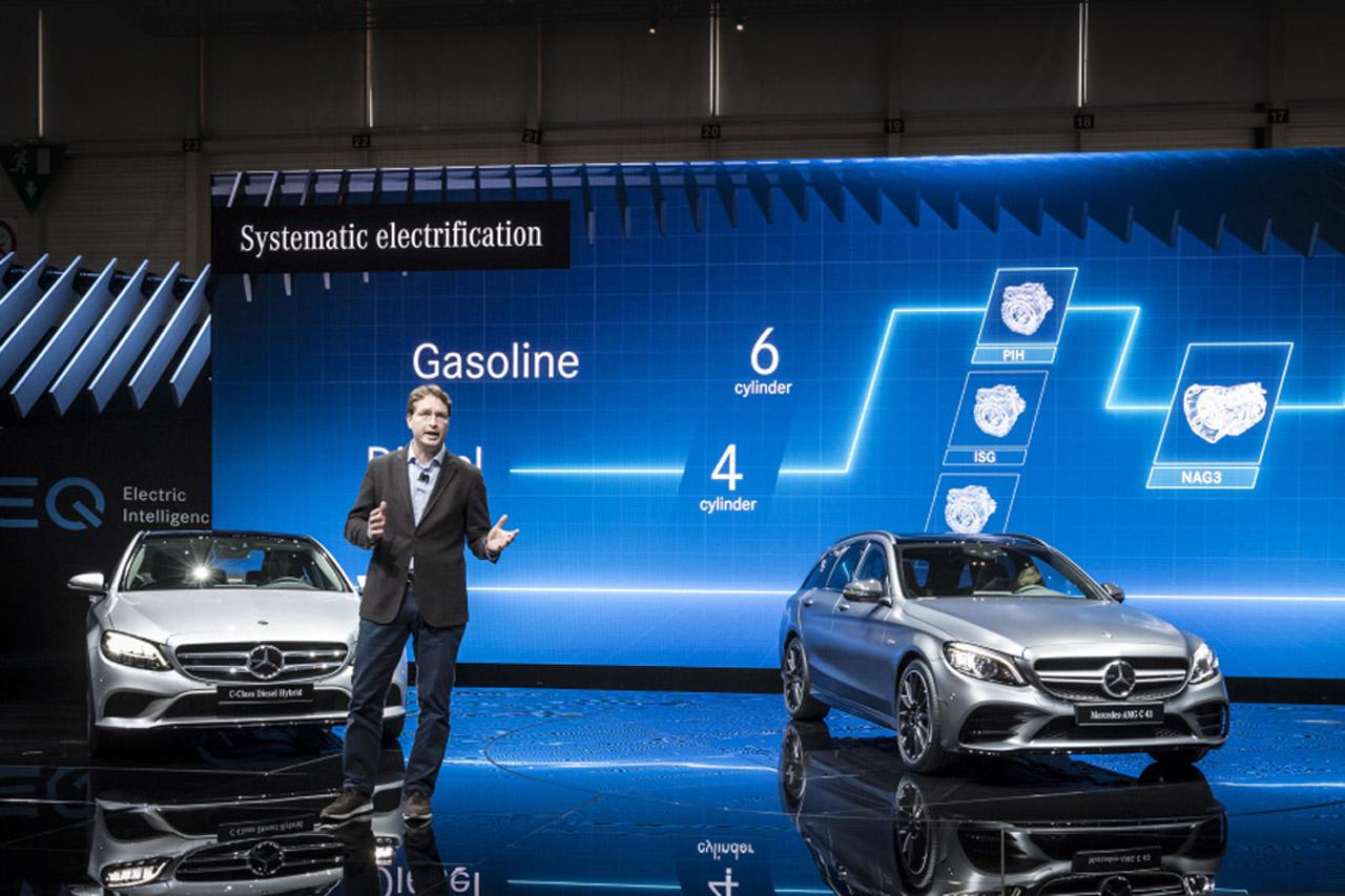 Mercedes-Benz auf dem Internationalen Automobil-Salon Genf 2018