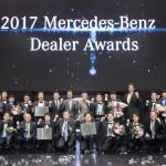 메르세데스-벤츠 코리아, 전국 공식 딜러 네트워크 임직원과 함께 하는 '2017 딜러 어워드' 개최