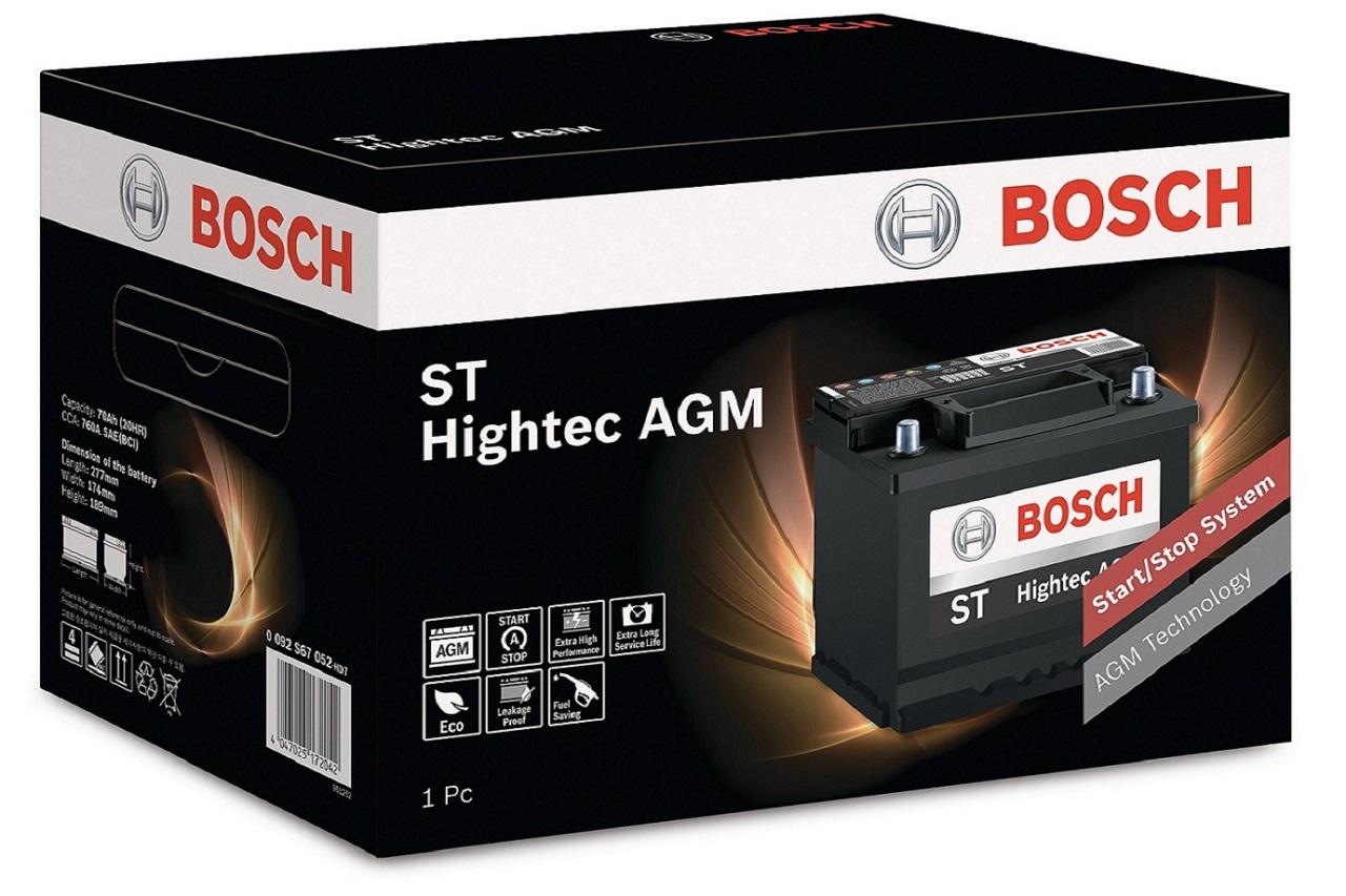 사진-보쉬 스타트-스탑 전용 AGM 배터리