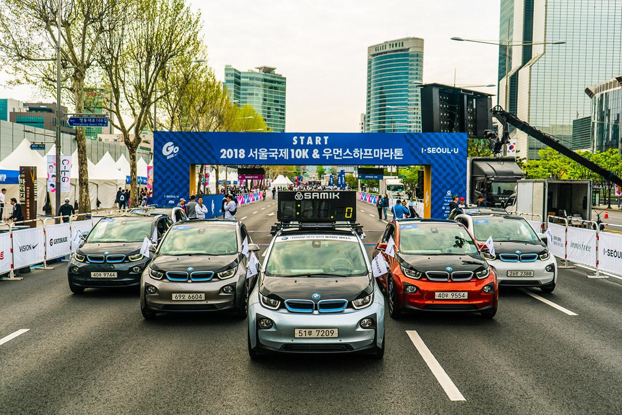 사진-BMW 도이치모터스 나이키 고 서울 i3 지원(1)
