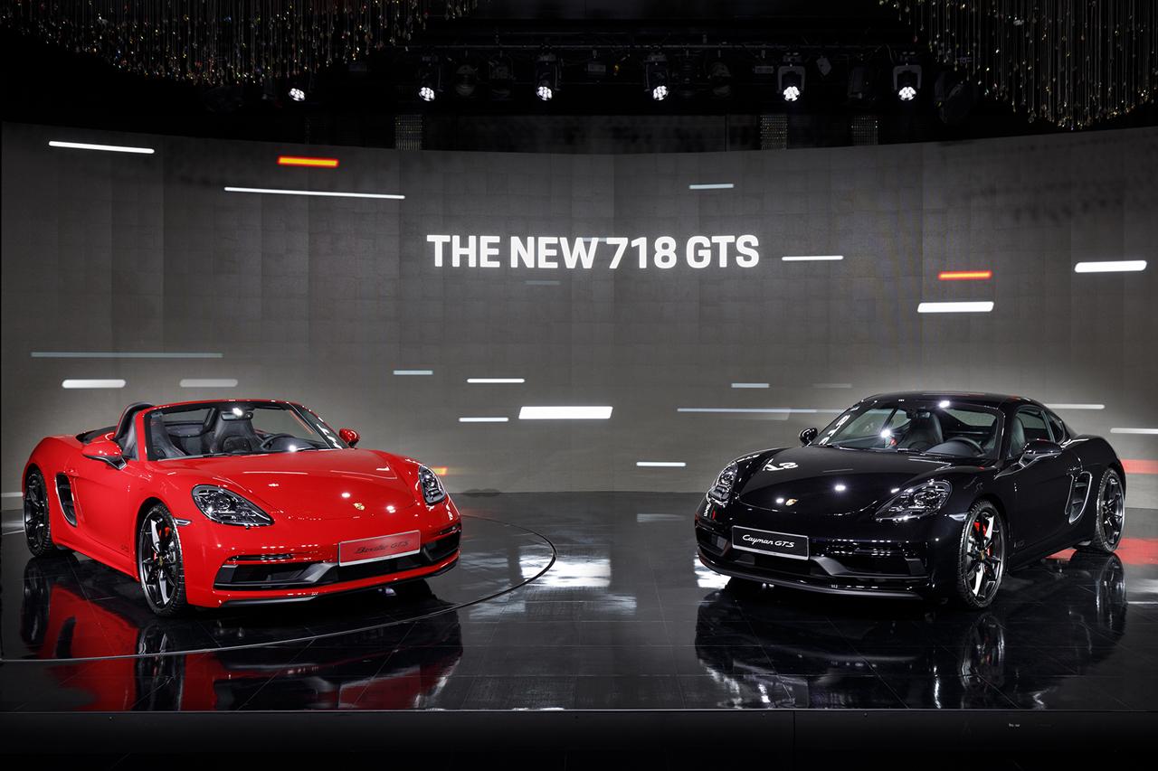 포르쉐 신형 718 GTS 모델  공식 출시 (3)