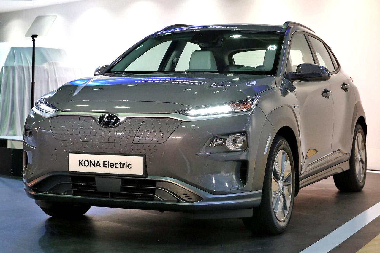 180412 현대차, 소형 SUV 전기차 '코나 일렉트릭' 공개(1)