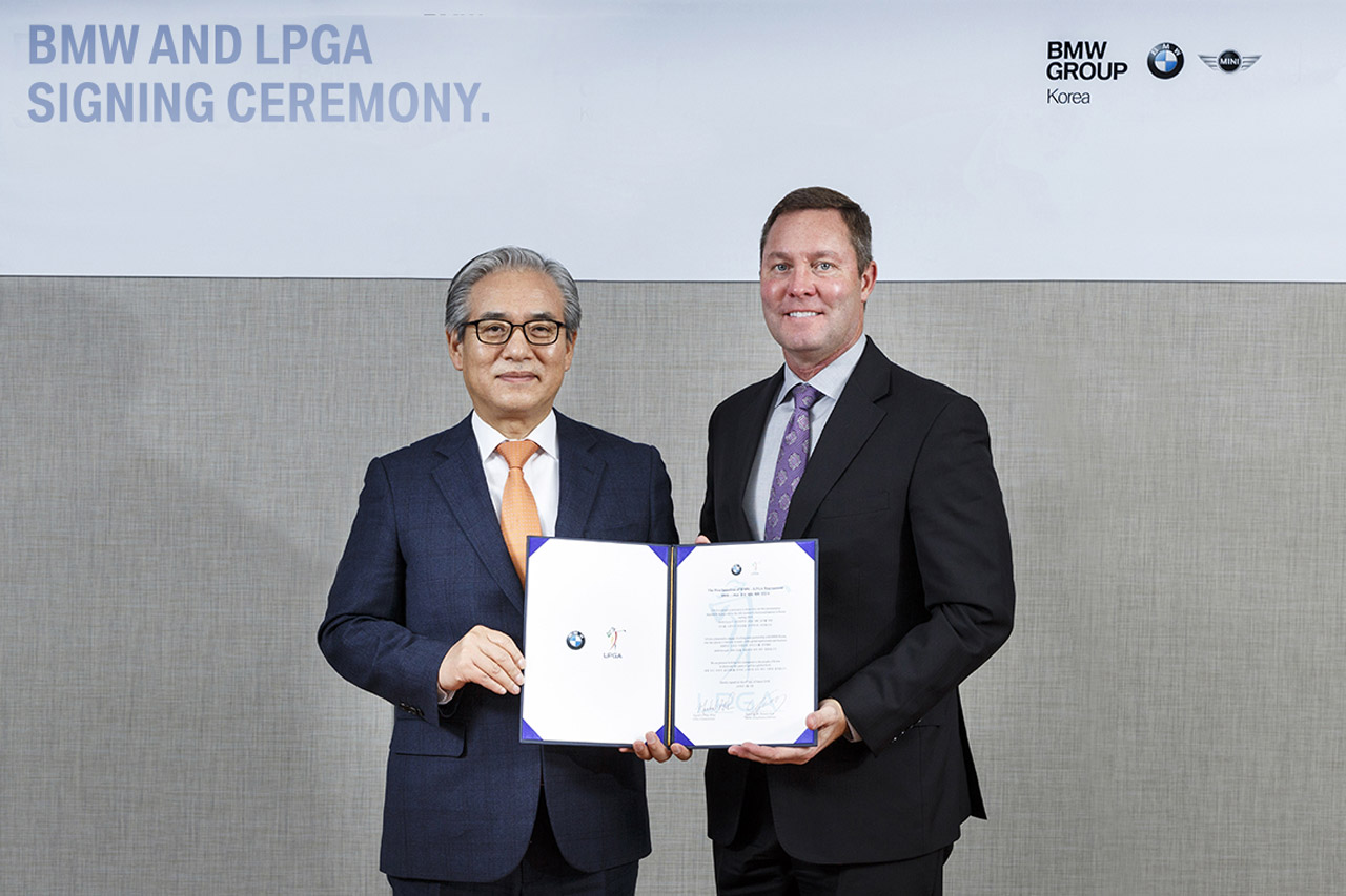 보도자료 이미지-BMW 그룹 코리아 LPGA 투어 한국 개최