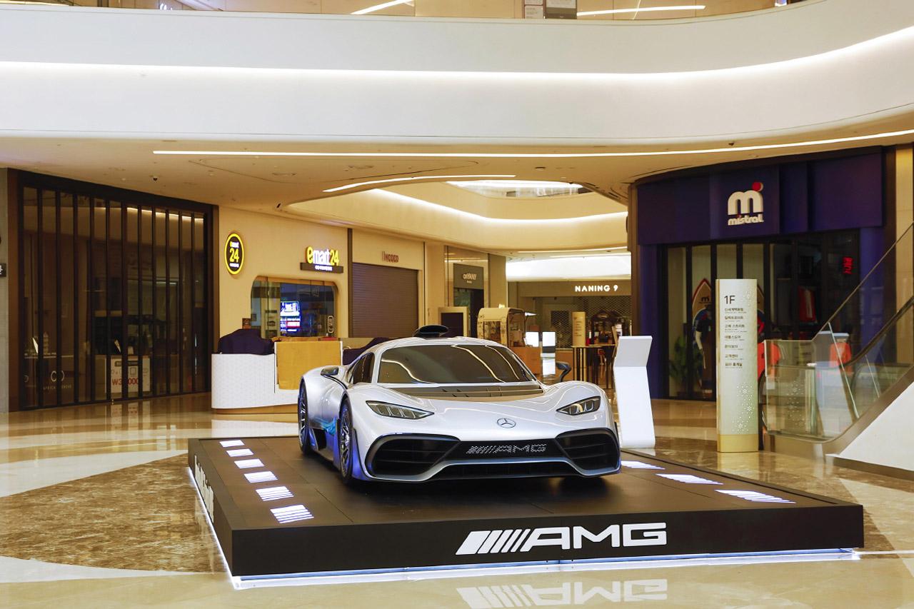 사진1-메르세데스-AMG 프로젝트 원 스타필드 하남 전시