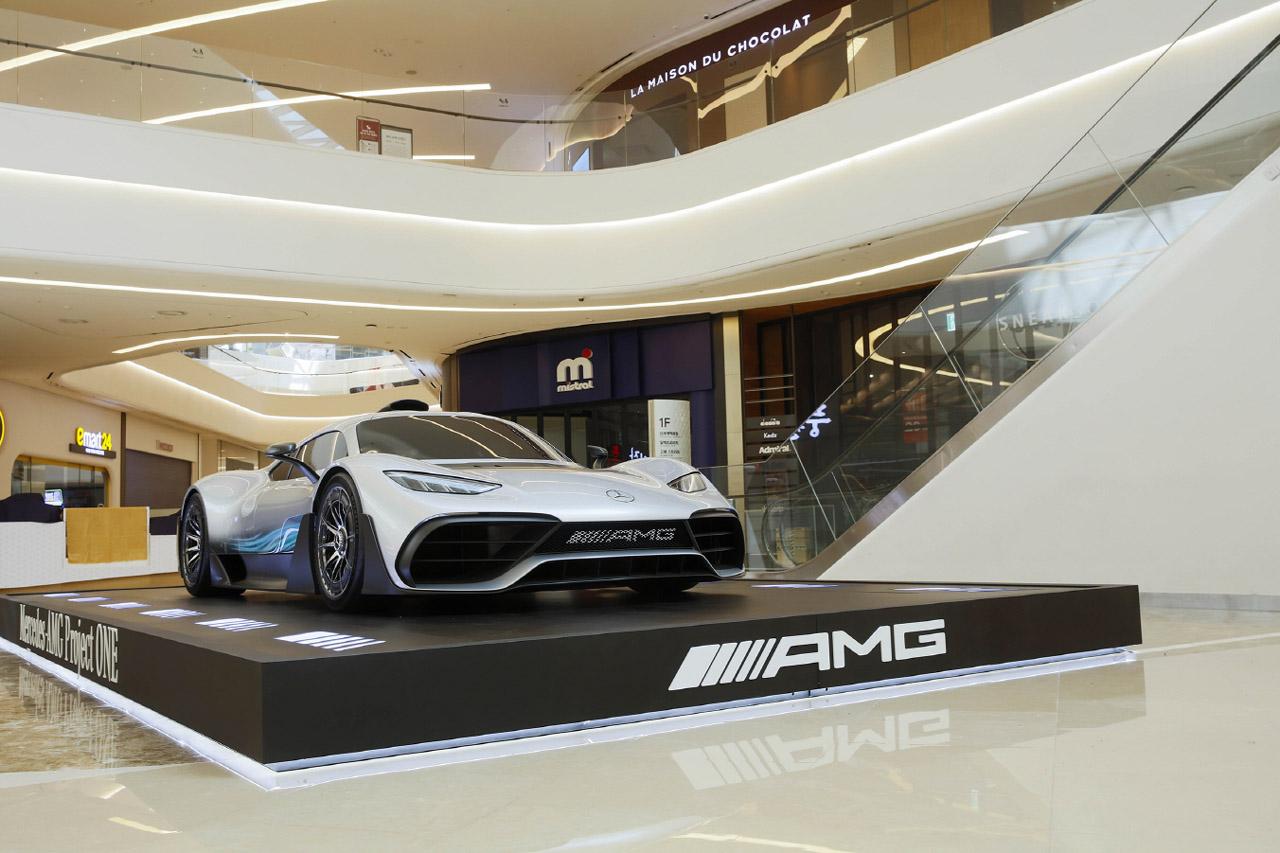 사진3-메르세데스-AMG 프로젝트 원 스타필드 하남 전시
