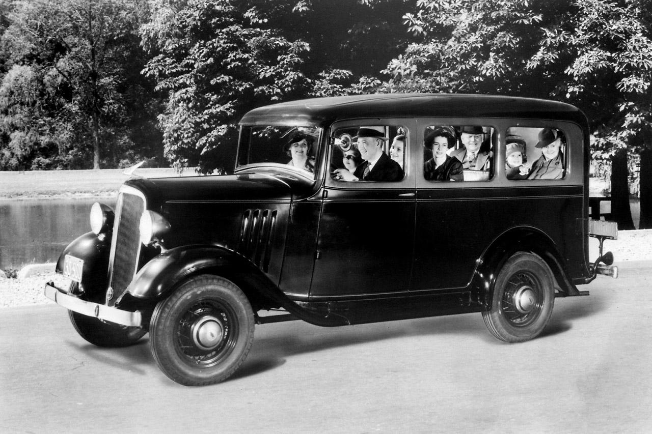 1935 Chevrolet Suburban Carryall
