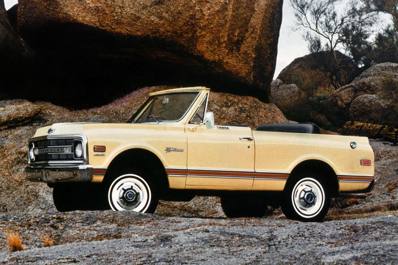 1969 Chev K5 Blazer 205821