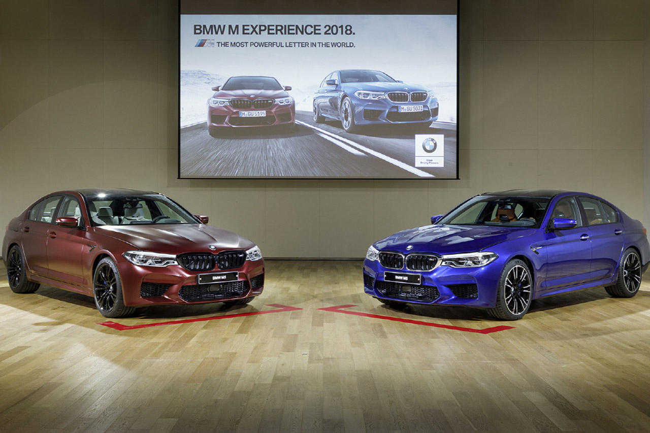 BMW M 익스피리언스 2018_6세대 뉴 M5 공개 (1)