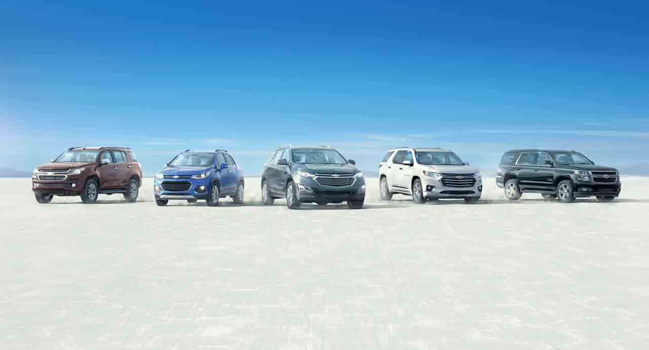 Chevrolet SUV lineup