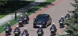 '짜르의 차' 러시아 대통령 전용 리무진, 마침내 공개