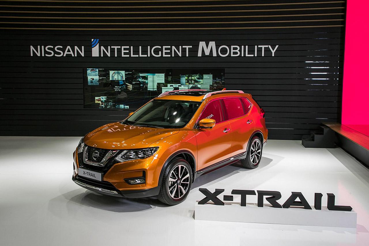 [사진자료] 2018 부산국제모터쇼, 닛산 부스 현장 사진 (5)_엑스트레일(X-Trail) 전시 차량 이미지
