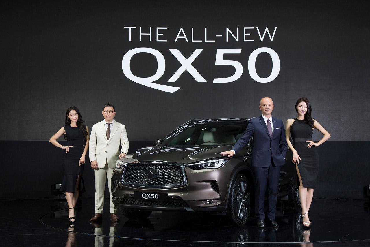 [사진자료] 2018 부산국제모터쇼, 인피니티 부스 현장 사진 (1)_'올 뉴 QX50'
