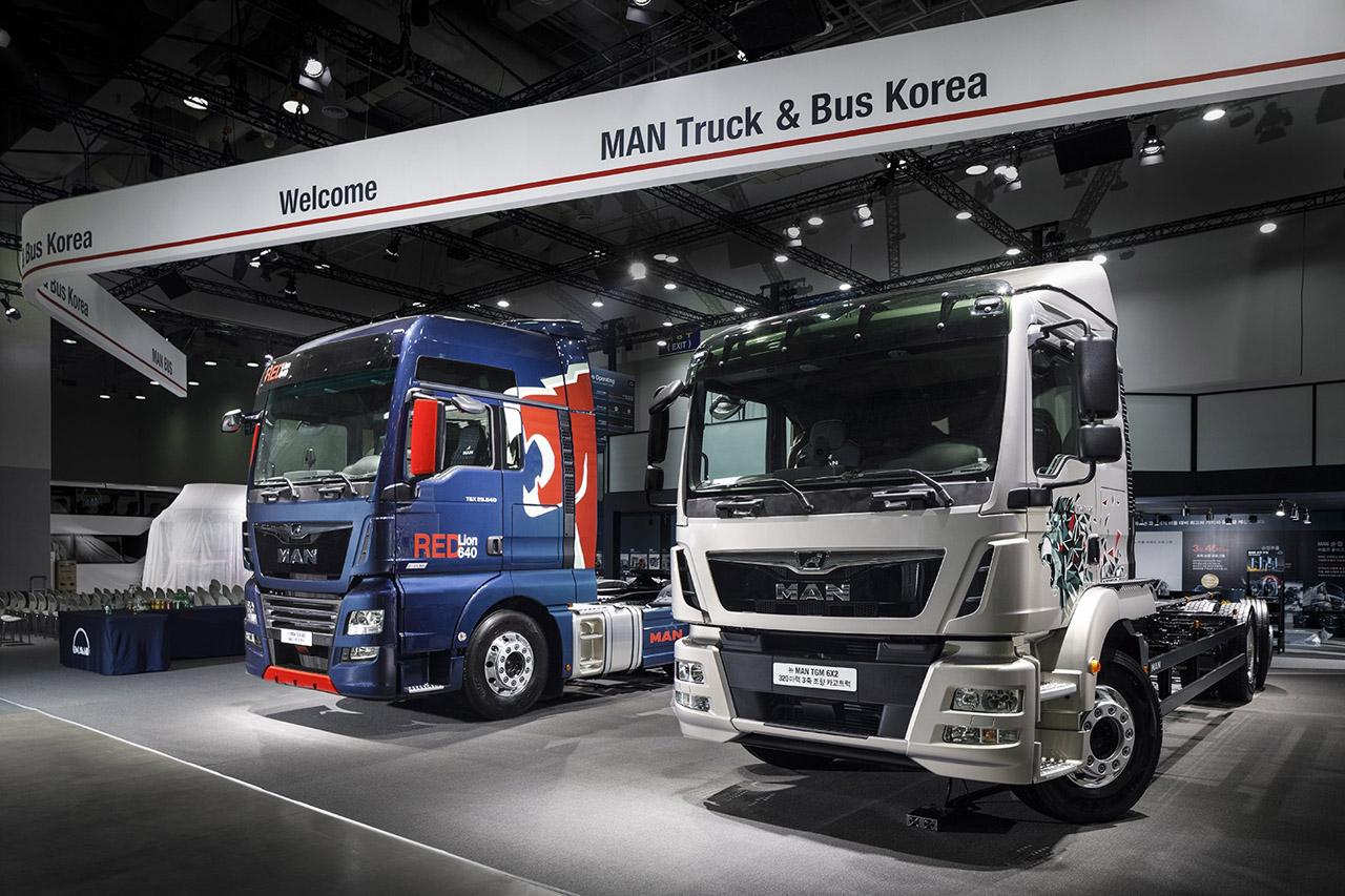 [사진 6] 만트럭버스코리아, 2018 부산모터쇼 아시아프리미어 모델- 뉴 TGM 320마력 카고트럭, 뉴 TGX 640마력 트랙터