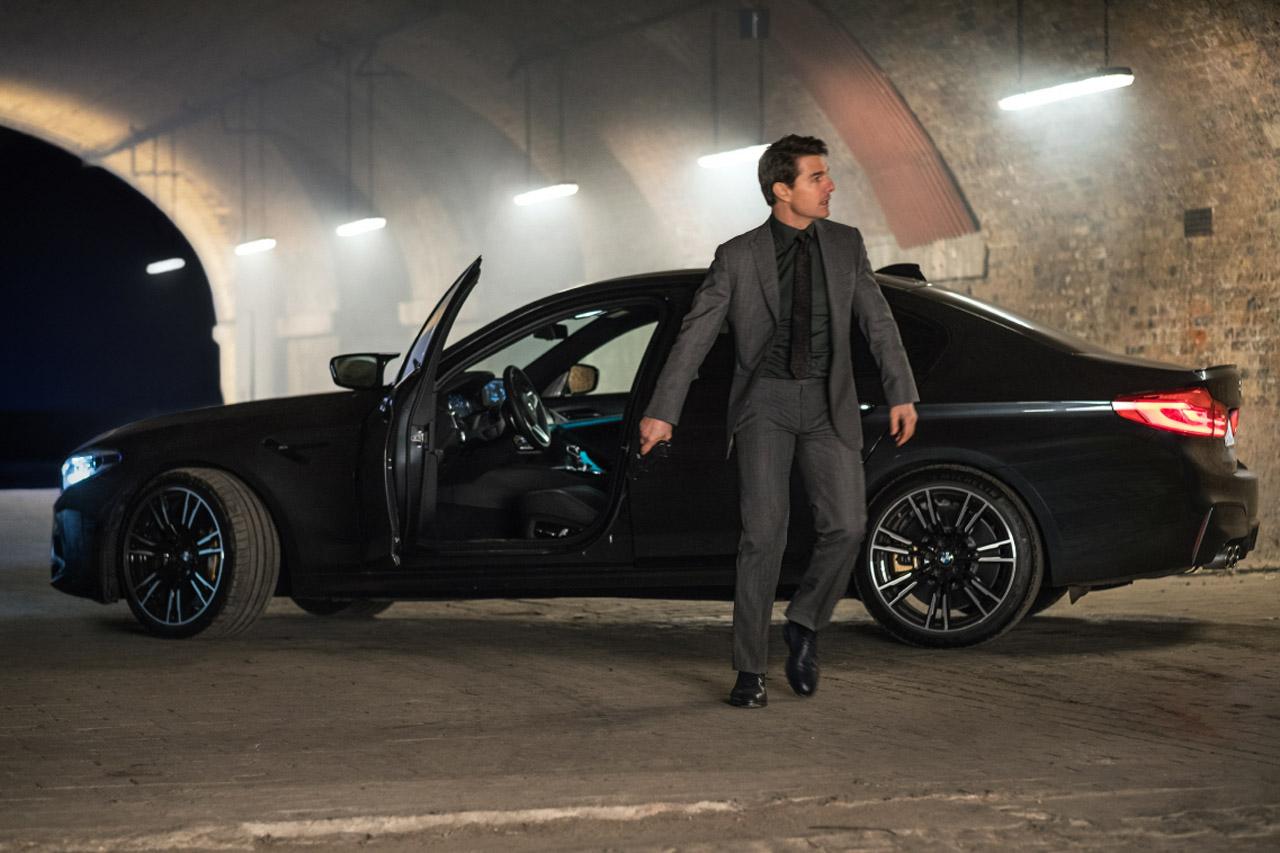 사진 - BMW 그룹, '미션임파서블-폴 아웃'에 뉴 M5 등 다수 모델 투입 (2)