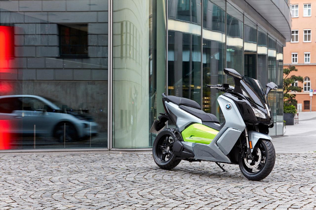 사진-BMW Motorrad 뉴 C 에볼루션